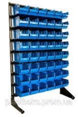 Стеллажи для метизов с ящиками на склад торговую точку