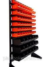 Стеллаж для метизов с ящиками пластиковыми