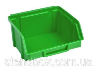 Ящики для метизов пластиковые 50 х 100 х 90 Арт.703 Зеленый