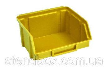 Ящики для метизов пластиковые 50 х 100 х 90 Арт.703 Желтый