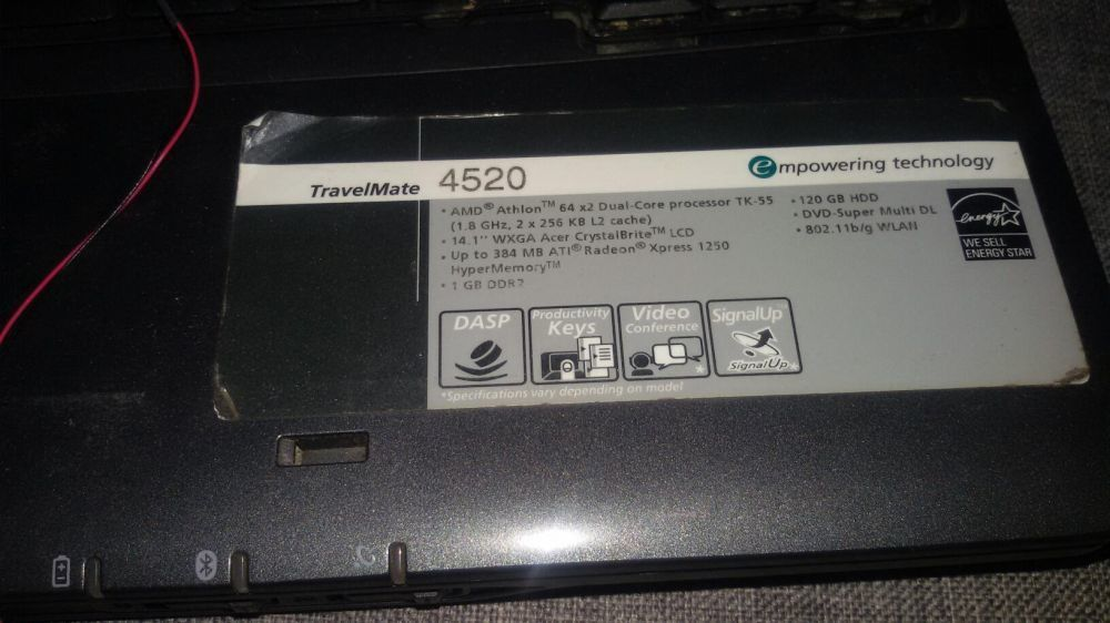 ACER TRAVELMATE 4520 DRIVER DOWNLOAD