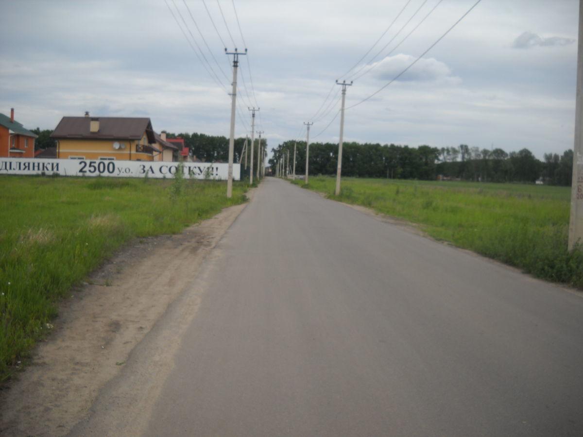 Продам 2 6 12 га земли Крюковщина 3км Киев Гатное Вишневое Чабаны