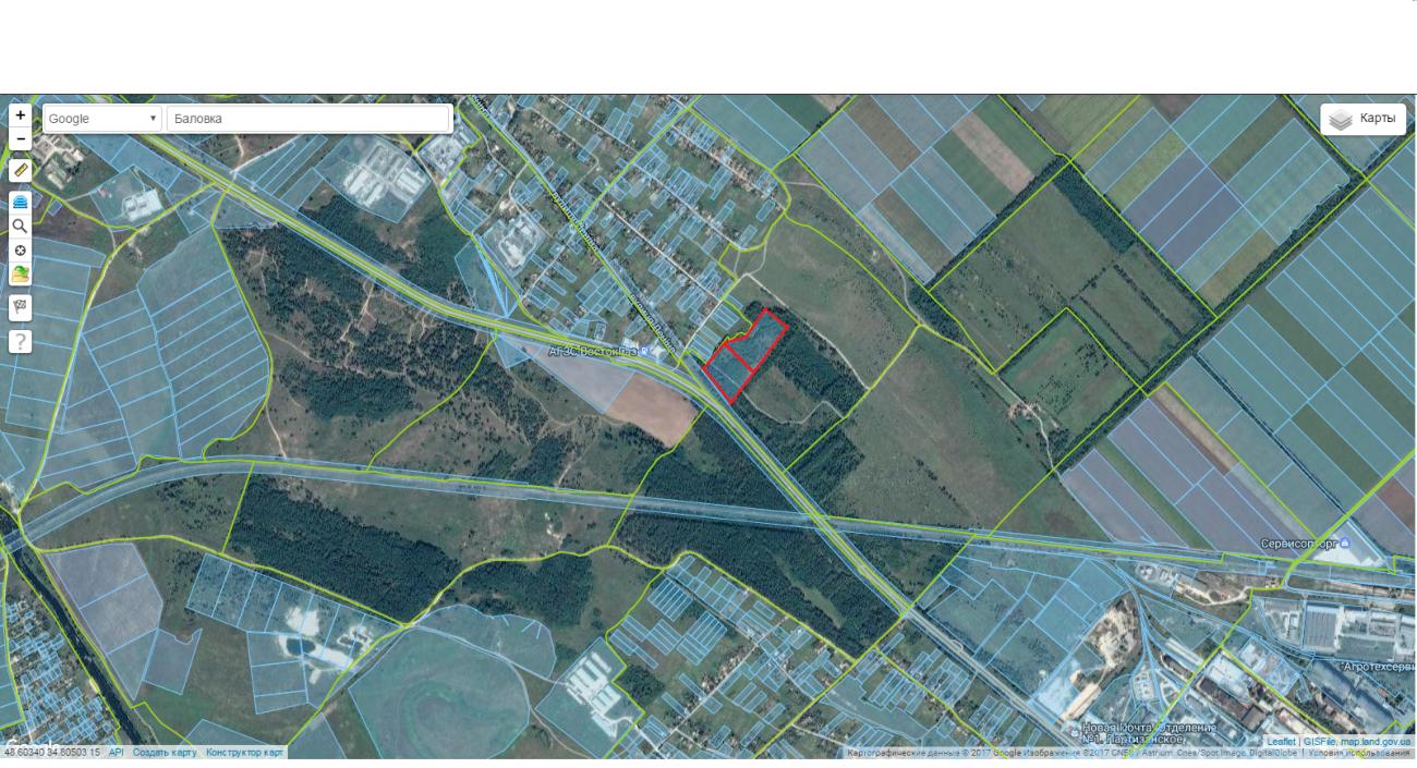 Земельный участок 4 га в лесу по Полтавской трассе (+ видео)