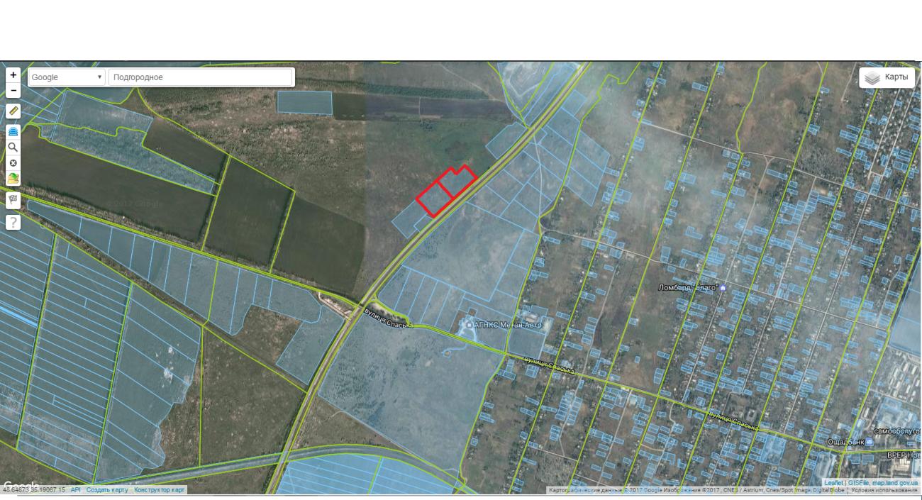 Шикарные участки 2х2 гектара по трассе Харьков - Симферополь