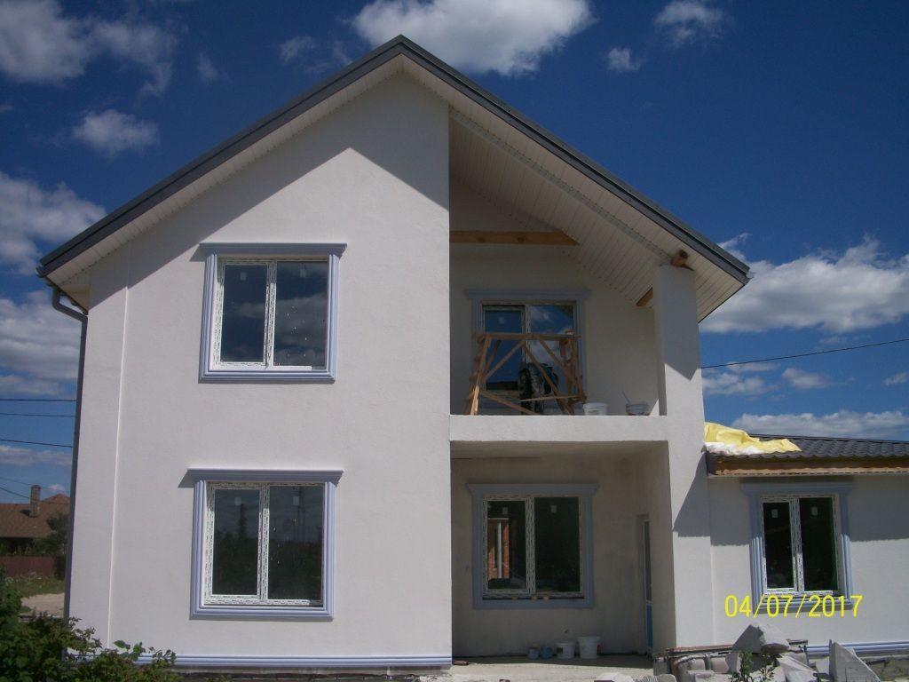 Продается дом на этапе строительства в с.Новое