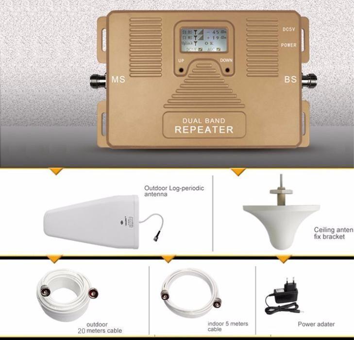Усилитель мобильной связи, репитер, підсилювач, 1800MHZ + 3G