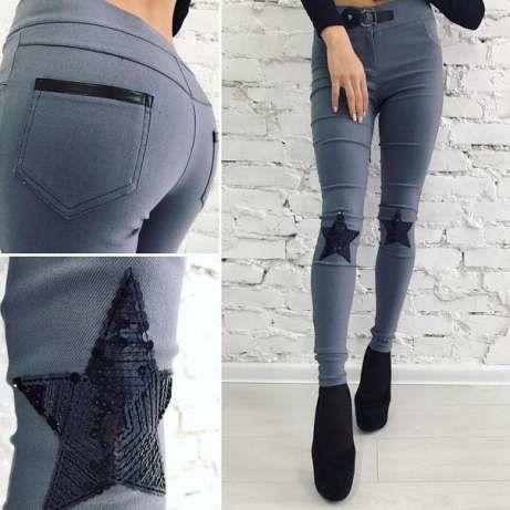 bb8c06436e3 Джинсы женские новые! Джинсы с вышивкой! Стильные джинсы! Джинсы скини