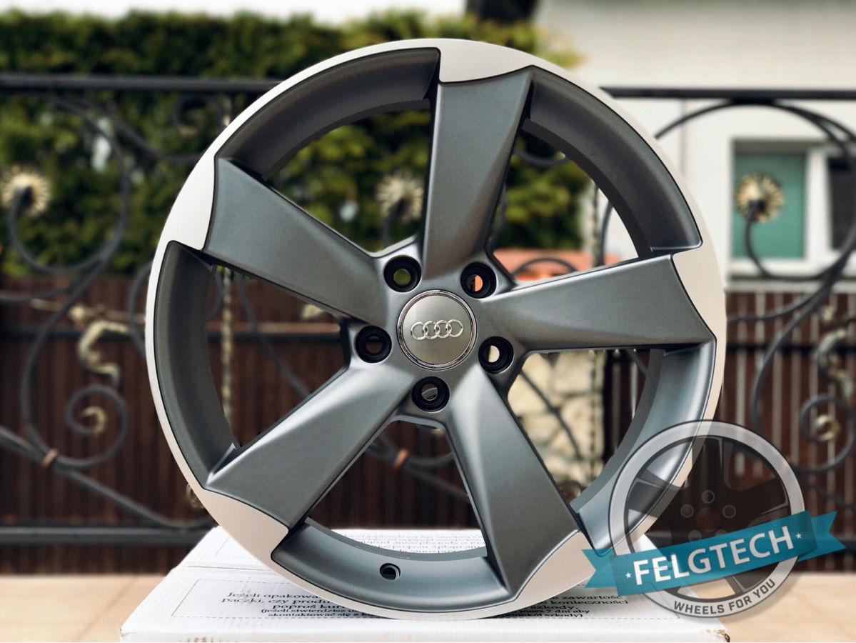Новые диски R18 5x112 ROTOR AUDI RS A4 A5 A6 A7 A8 Q5 Skoda VW Passat