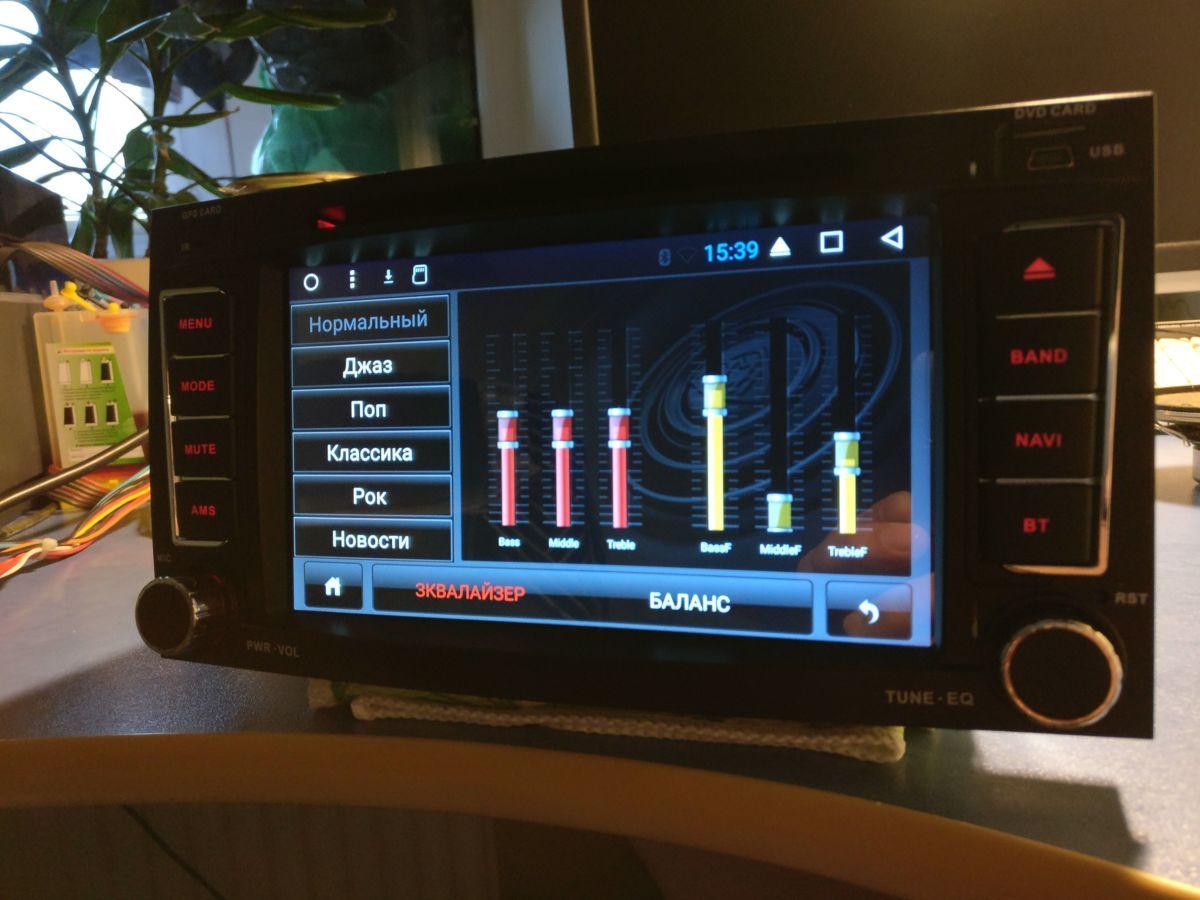 аудио видеотехника для фольксваген мультивен 2007г