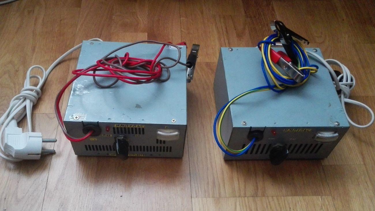 Трансформаторное зарядное 6А и 5А