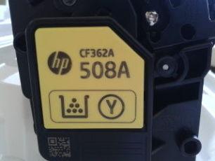 Картридж пустышка   HP 508A  ( HP cf361a)