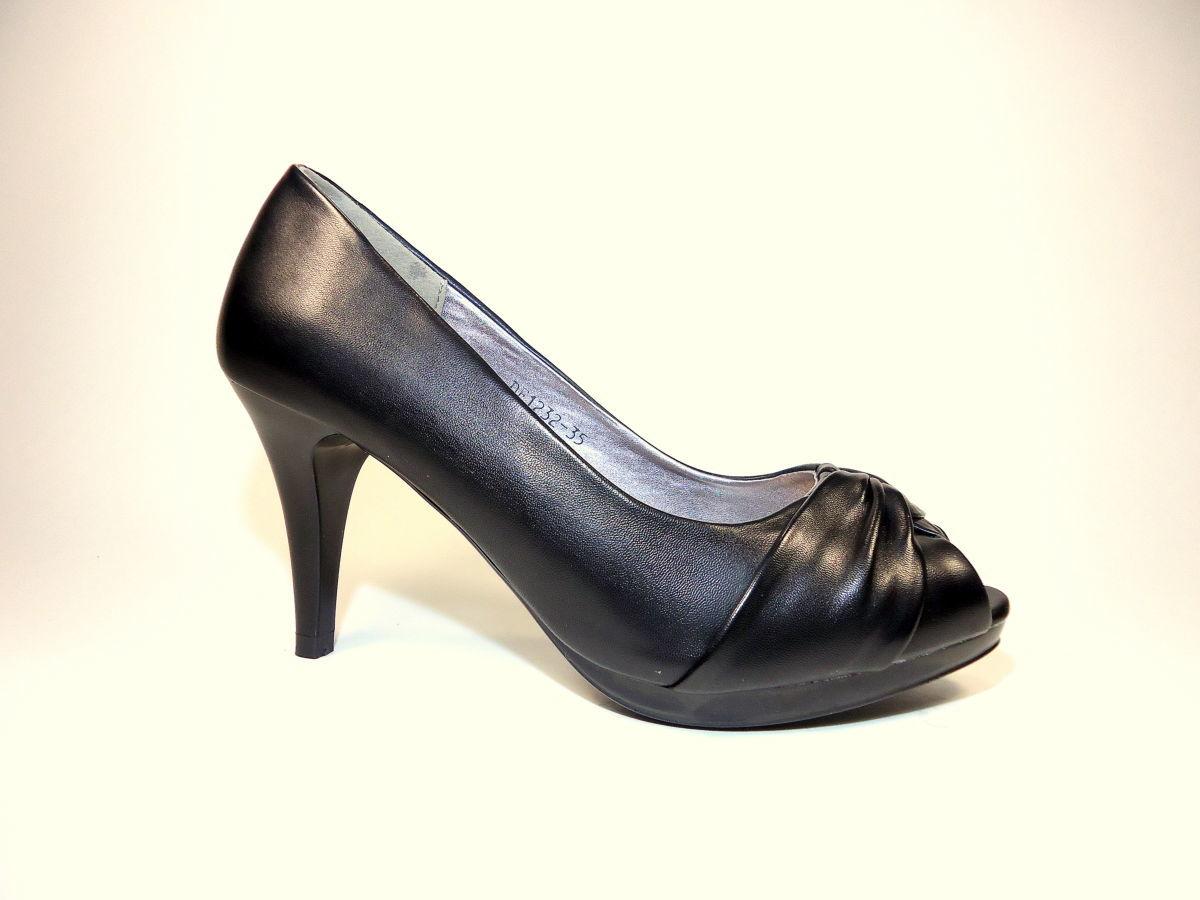 Женские летние туфли на каблуке с открытым носком. Размер 35-40 ... 88e7e98546c2d