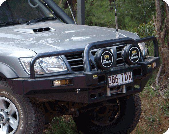 бампер передний стальной tjm для nissan patrol