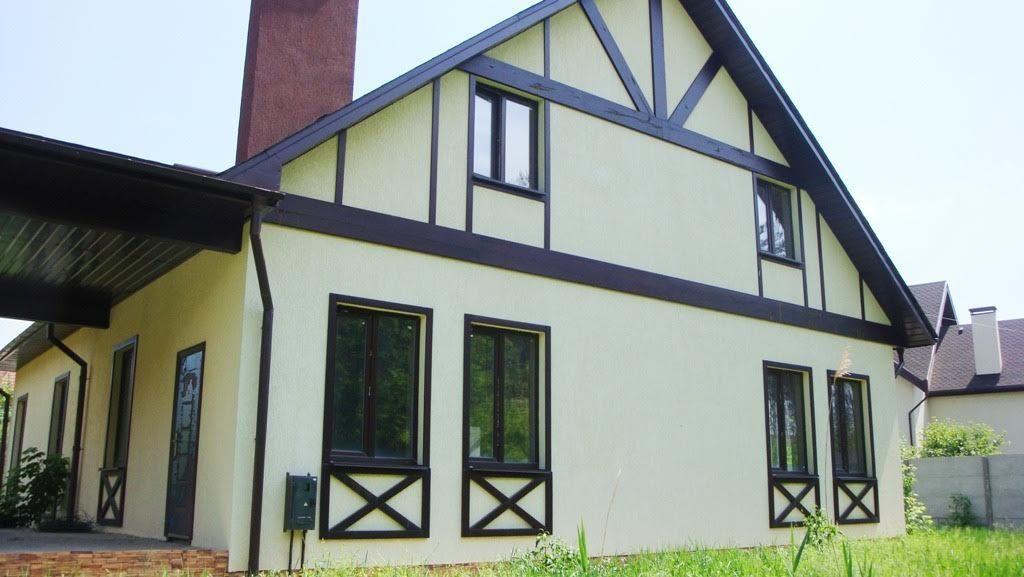 Дом в Песчанке возле леса.