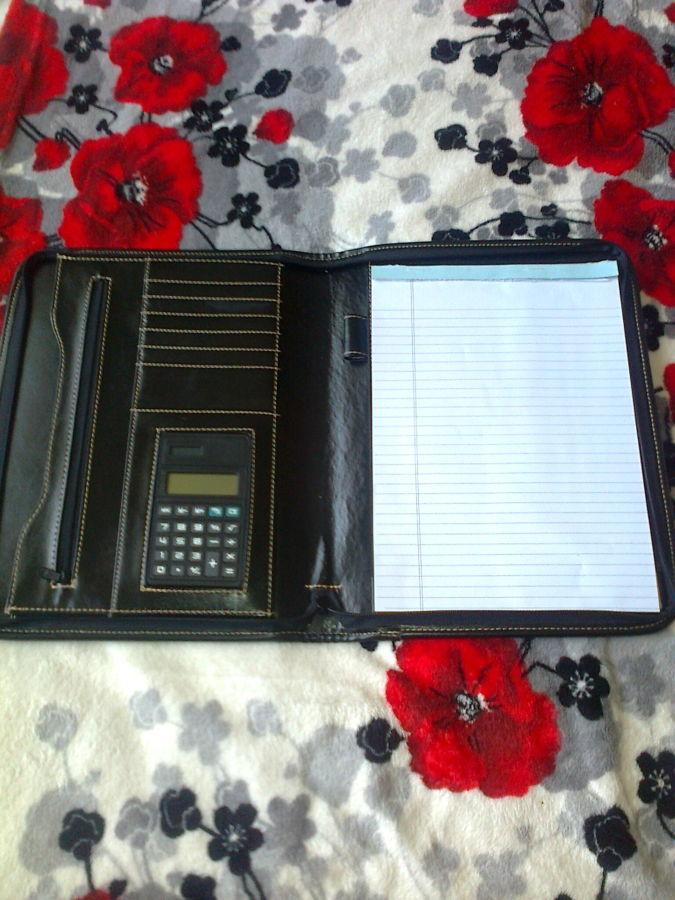 Папка для документов с калькулятором, Италия