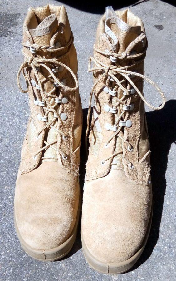60b9dc647a1 Берцы Пустыня НАТО США Светлые Песок Ботинки Оригинал Облегченки Летни