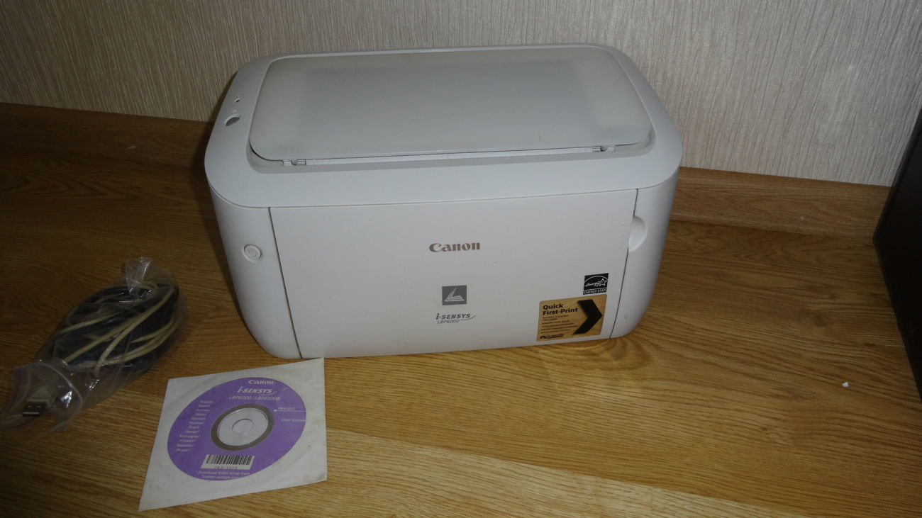 Canon LBP 6000  + USB cable пробег 5500 копий