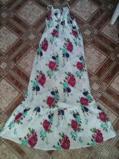 Длинный легкий цветочный сарафан ! М-Л