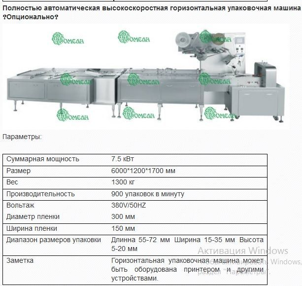 Линия для производства батончиков 260.67.02