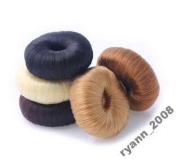 Пончик, валик, бублик для волос иметация волос