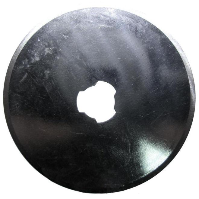 Лезвие для дискового роликового ножа 45 мм по ткани, коже, бумаге