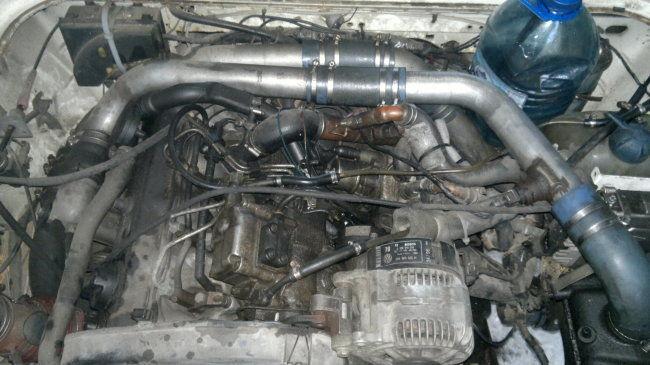 Установка двигателей 1,9 D,TD,TDI для VW T2, T3