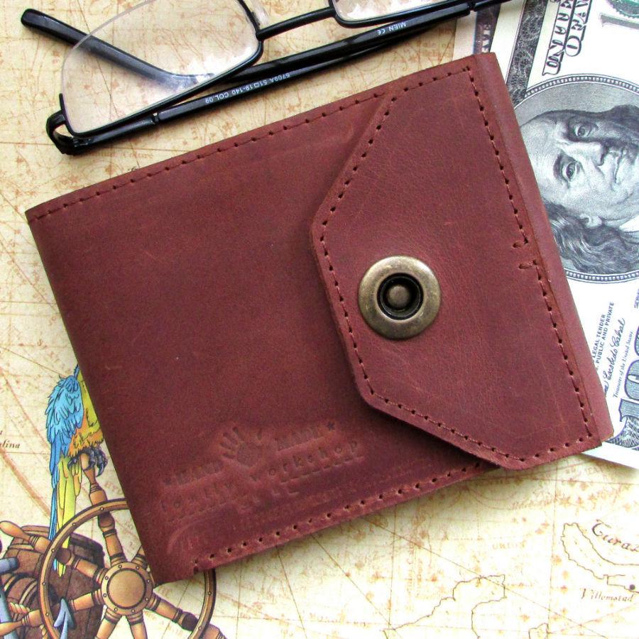 47cbd9c79d88 Оригинальный мужской кошелек из натуральной кожи ручной работы.: 350 ...