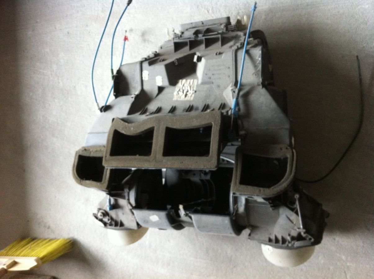 не дует печка на BMW e39