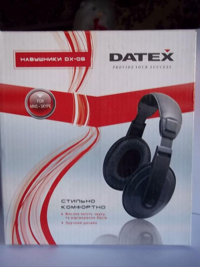 Наушники Datex DX-05  150 грн. - Наушники Львов - объявления на ... a438a8f47cb6d