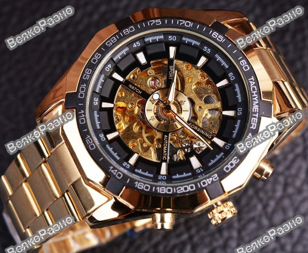Часы мужские механические Winner Skeleton