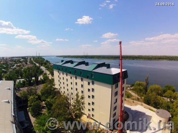 Квартиры в рассрочку в новострое с видом на Днепр в Новой Каховке
