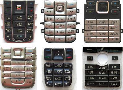 Клавиатура новая (кнопки) Nokia Ericsson Samsung Motorola Siemens LG