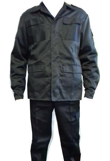 Форма для охранника черного цвета