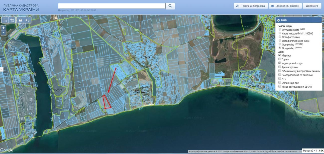 Фото 3 - От собственника, земля на берегу Черного моря, г. Южный, Одесская обл