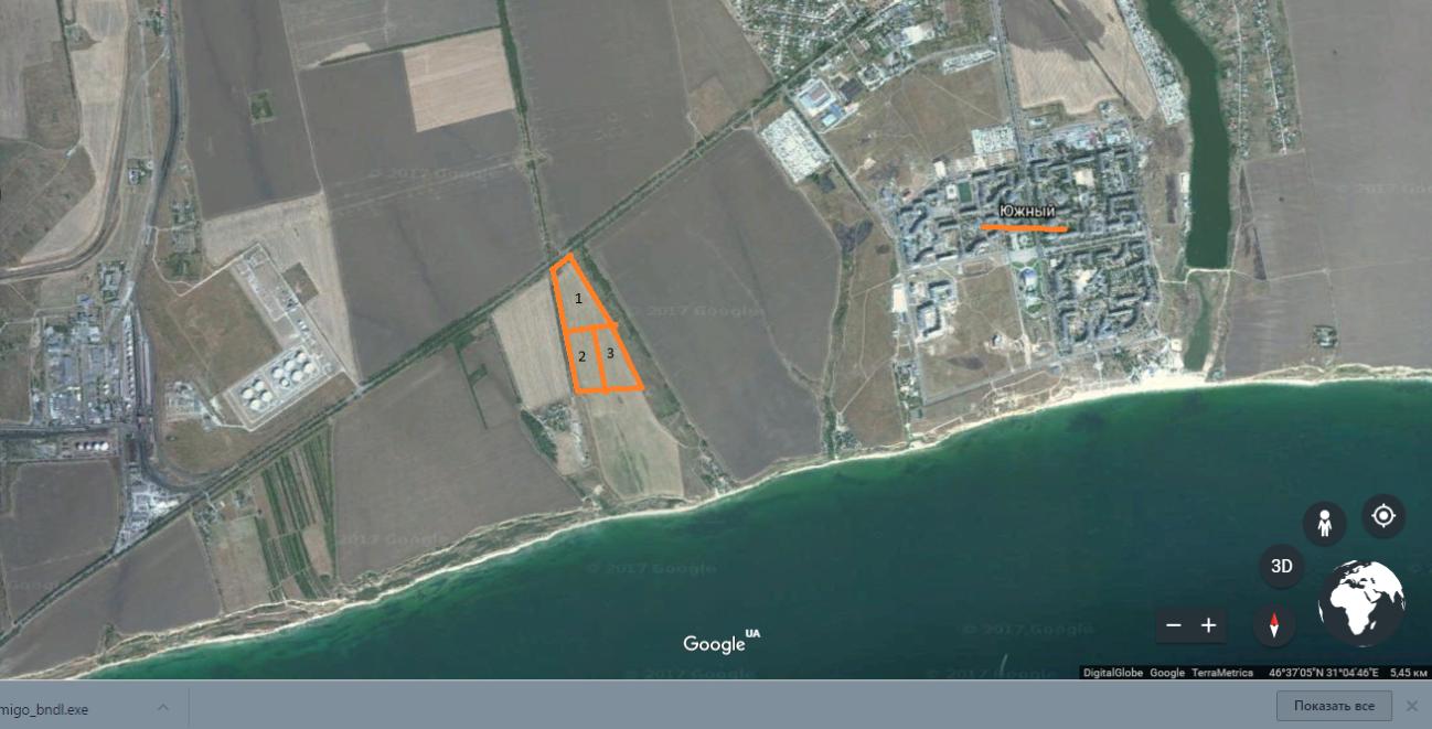 Фото 4 - От собственника, земля на берегу Черного моря, г. Южный, Одесская обл