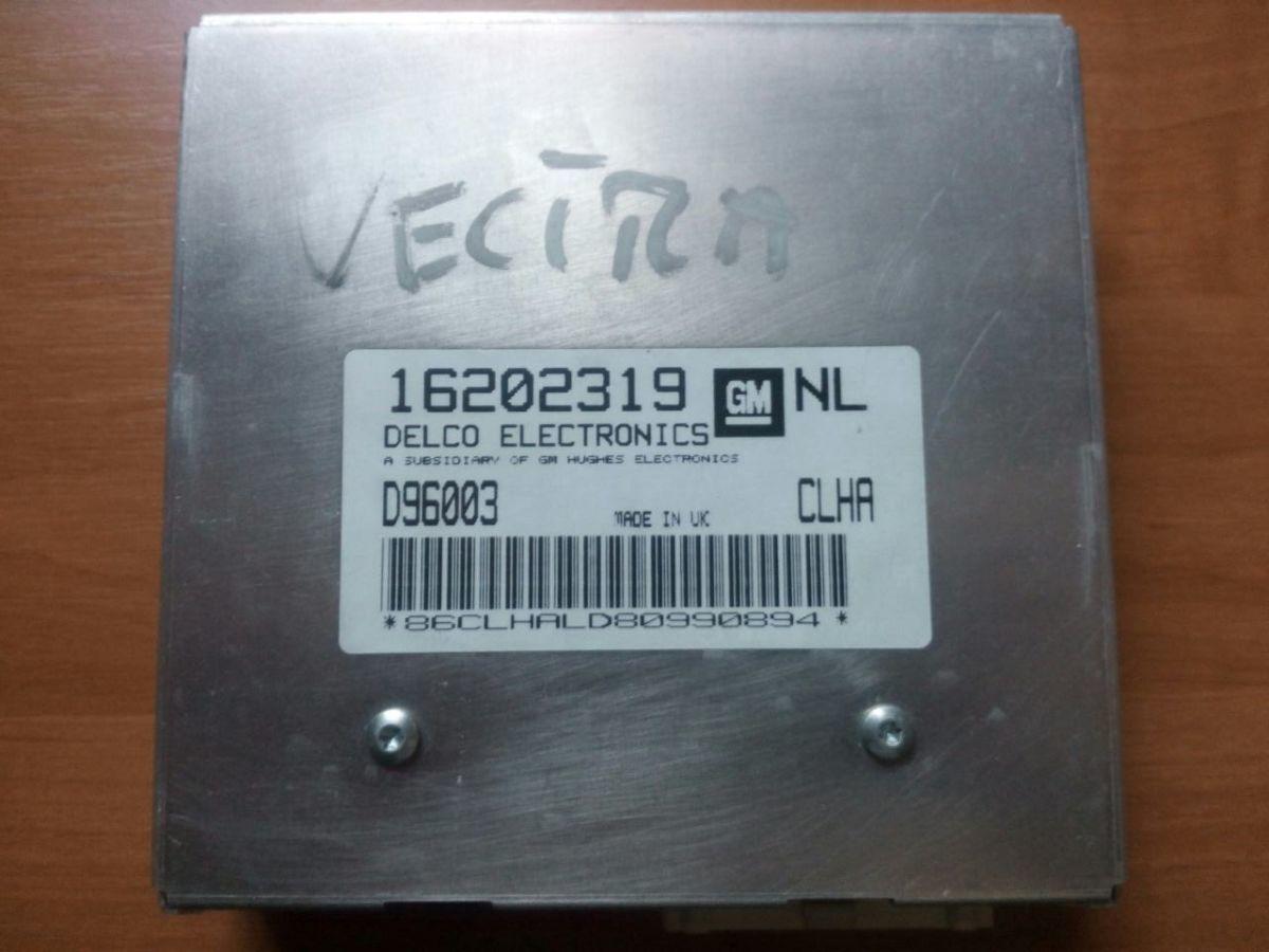 16202319 NL D96003 CLHA ЭБУ двигателя Vectra B 1.6i 16V X16XEL