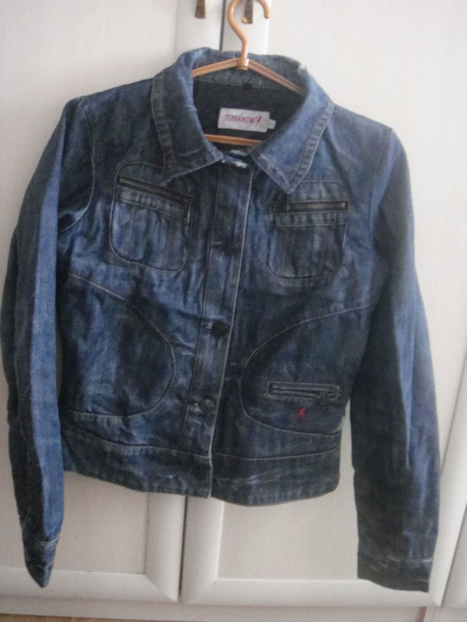 Джинсовая куртка Terranova р.S