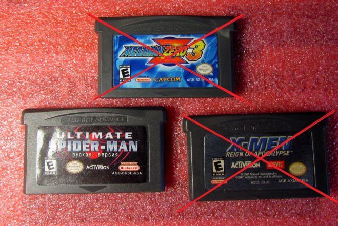 картриджи к Nintendo Game Boy