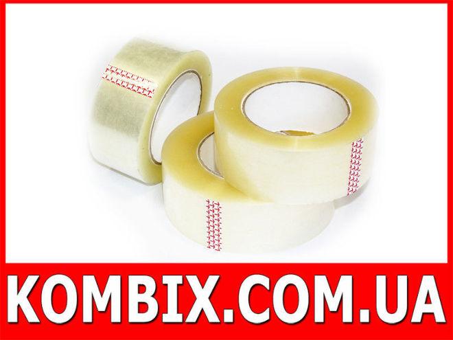 Скотч упаковочный прозрачный: длина - 180 (200) метров | 45 мм ширина