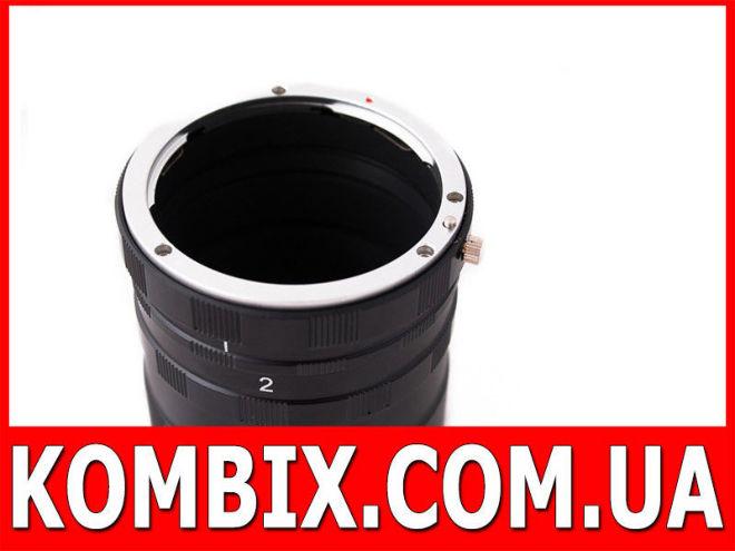 Набор макроколец, макрокольца для Nikon, Canon, Sony, Pentax