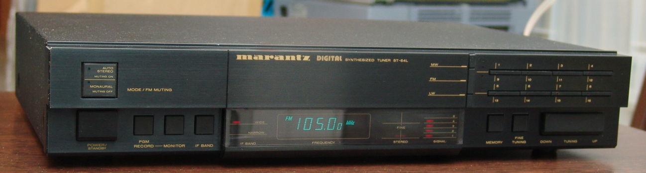 Стерео FM тюнер Marantz ST-64.