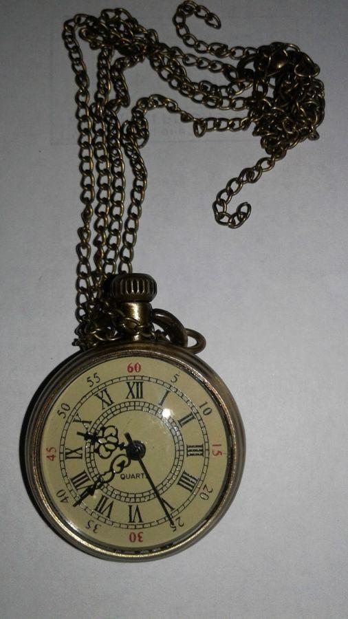 Часы-кулон, не рабочие