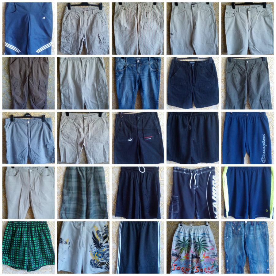 Продам шорты и бриджи, мужские и женские оптом Секонд хенд 9f8c4933b97