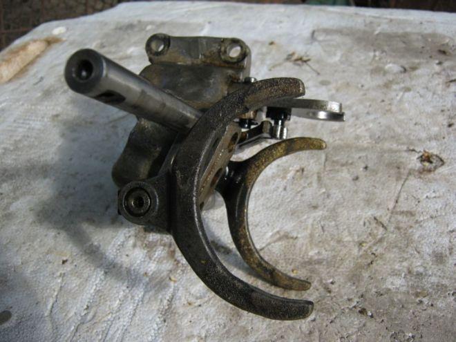 Механизм переключения передач ( блок вилок)таврия,сенс,славута 4