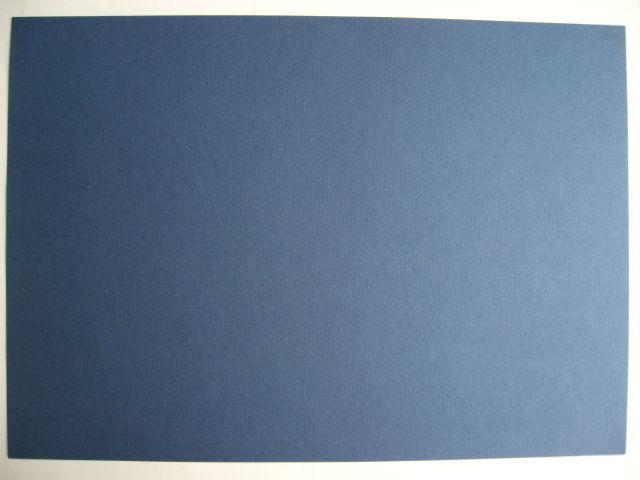 картон художественный синий лист А 4