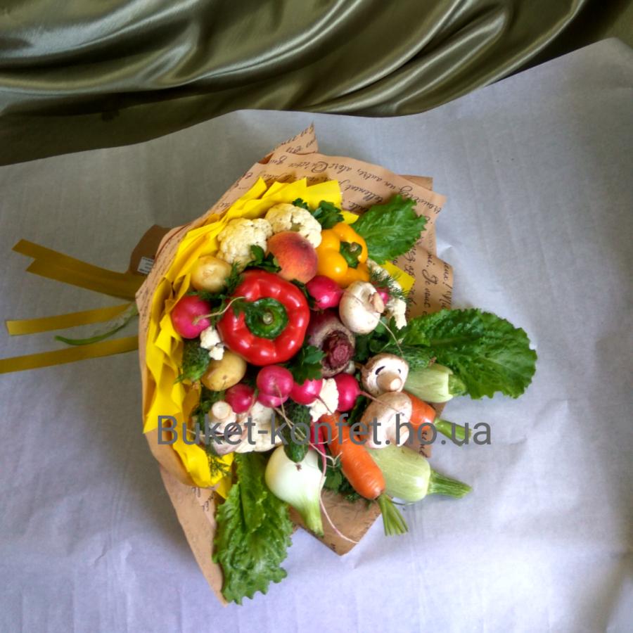 Букеты из фруктов и овощей,  закажи сейчас и дари!