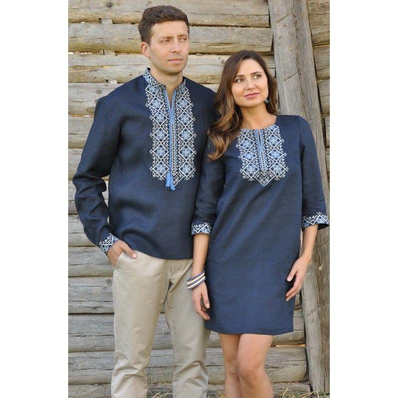 Вишиванка чоловіча та жіноча сукня з вишивкою  2 080 грн. - Рубашки ... 29f6f73d64c41