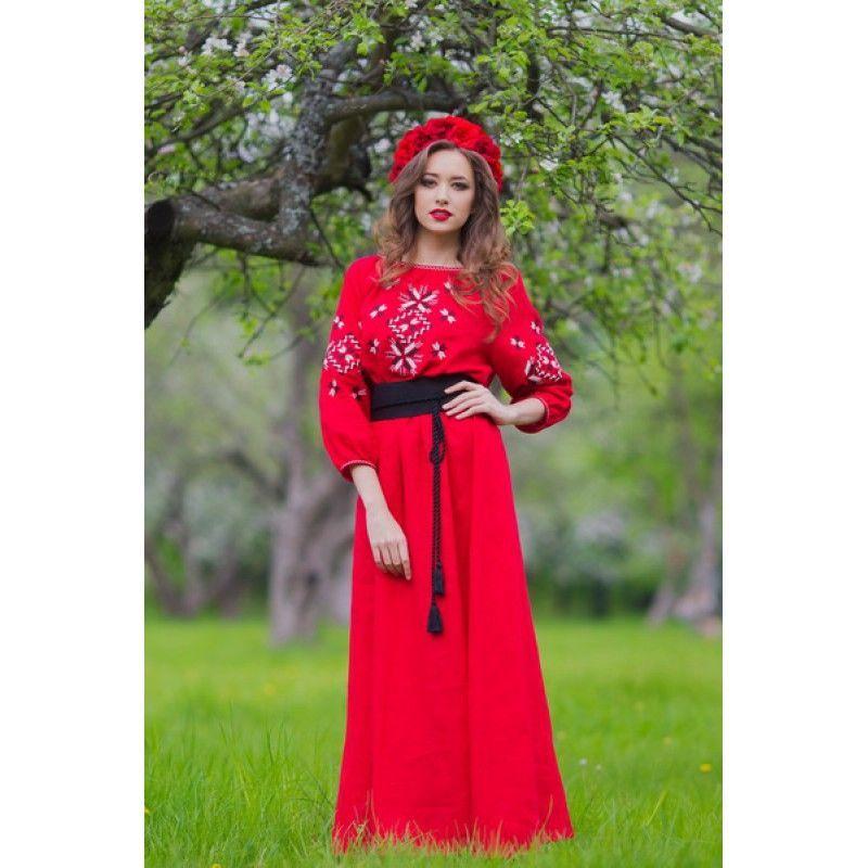 Вишита сукня в українському стилі  2 230 грн. - Сукні c6ef1909857d5