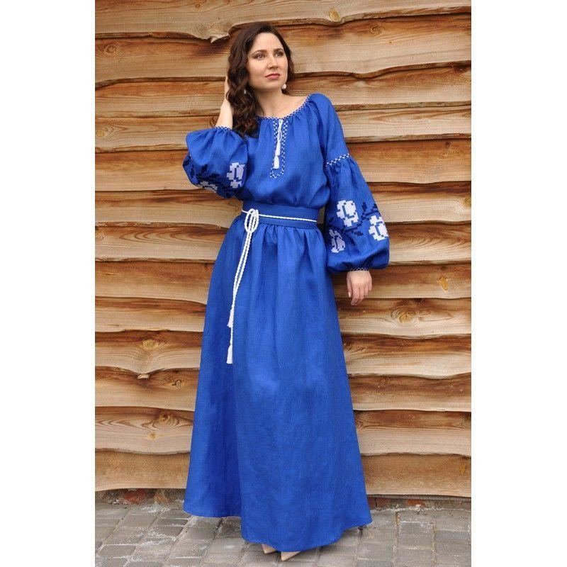 Сукня жіноча максі з вишивкою  2 410 грн. - Платья 7a36c00ec95d1