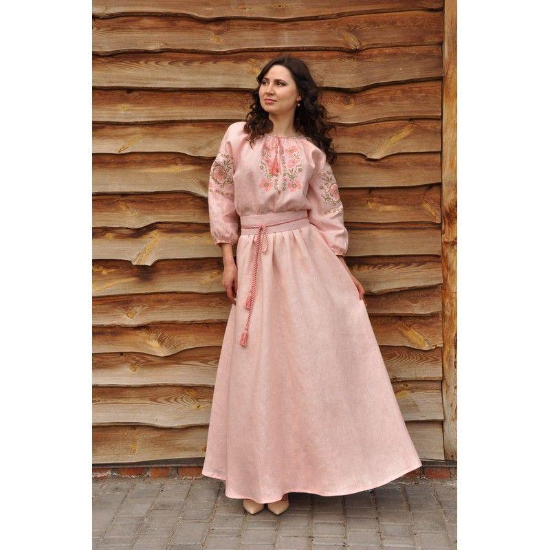 Сукня жіноча максі з вишивкою  2 360 грн. - Сукні c2aad1910b7e9